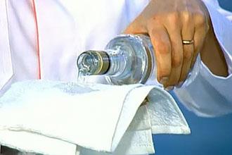 Водочный компресс на горло при ангине