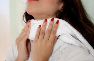 Горчичники при боли в горле