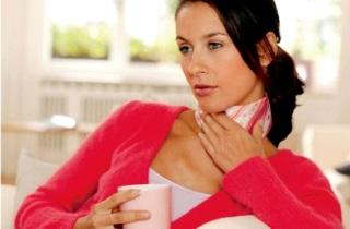 Лечение боли в горле с помощью горчичников