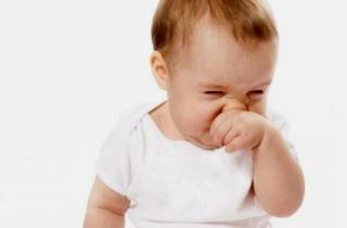Заложенность носа у грудничков