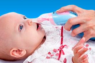 Как пользоваться соплеотсосом для новорожденных
