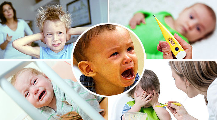 Отит у ребенка 3 лет лечение