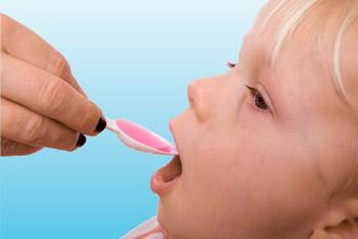 Прием лекарств ребенком